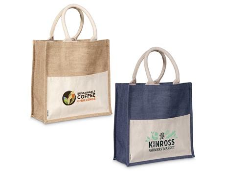 Okiyo Kachi Jute Tote Bags and Travel