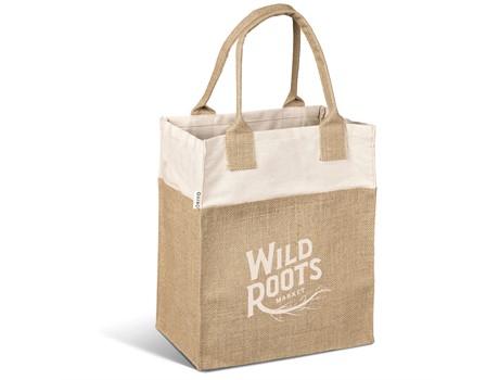 Okiyo Yoshi Jute Tote Bags and Travel