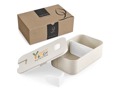 Okiyo Machi Wheat Straw Lunch Box Drinkware