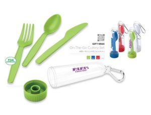 On The Go Cutlery Set – Red Only Drinkware