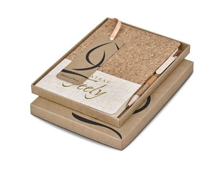 Okiyo Cardon Cork A5 Notebook Giftset Environmentally Friendly Ideas
