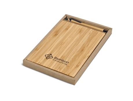 Okiyo Yahari Bamboo A5 Notebook Giftset Eco-friendly Products