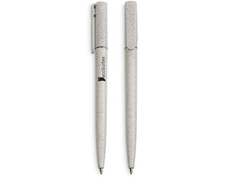 Okiyo Jade Wheat Straw Ball pen Environmentally Friendly Ideas