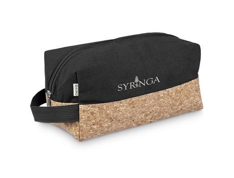Okiyo Koruku Cork Toiletry Bag Eco-friendly Products