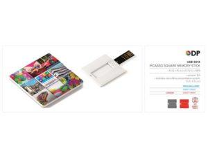 Picasso Square Memory Stick – 8GB Technology