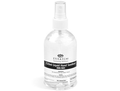 Eva & Elm Rochdale Liquid Hand Sanitiser Spray – 250ml Back to School and Work Ideas