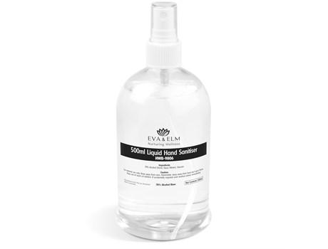 Eva & Elm Medway Liquid Hand Sanitiser Spray – 500ml Back to School and Work Ideas
