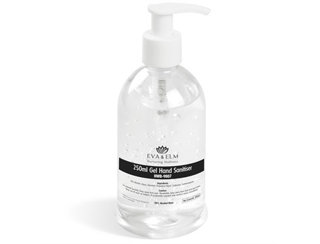 Eva & Elm Amesbury Gel Hand Sanitiser – 250ml First Aid and Personal Care