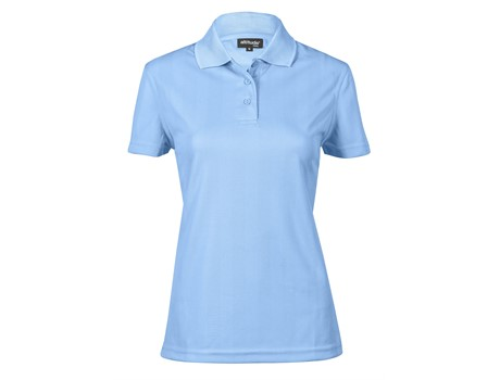 Ladies Barcelona Golf Shirt – Red Only Golf Shirts