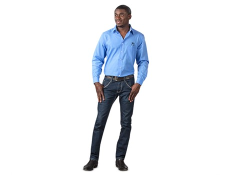 Dallas Shirt – Light Blue Only Lounge Shirts and Blouses