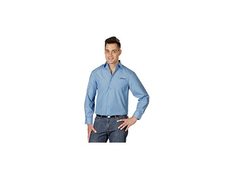 Finlay Long Sleeve Shirt – Sky Blue Only Lounge Shirts and Blouses 3