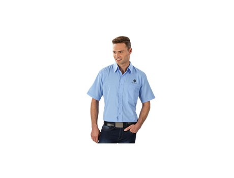 Harry Casual Short Sleeve Shirt – Sky Blue Only Lounge Shirts and Blouses