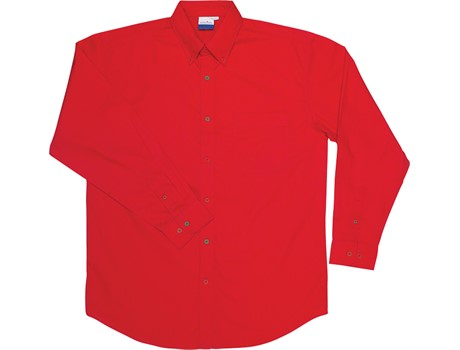 Jeff Long Sleeve Shirt – Red Only Lounge Shirts and Blouses
