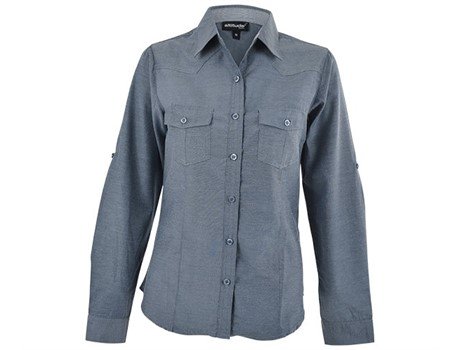 Ruby Blouse – Charcoal – Charcoal Only Lounge Shirts and Blouses