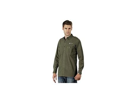 Tracker Long Sleeve Shirt – Khaki Only Lounge Shirts and Blouses 3