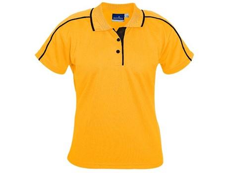 Vegas Ladies Golfer – Black Only Golf Shirts
