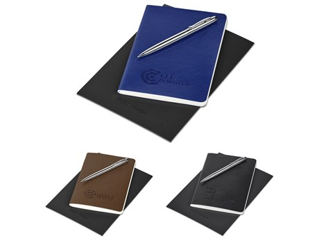 Alex Varga Small Soft Cover Notebook And Pen Set Giftsets