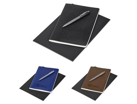 Alex Varga Medium Soft Cover Notebook And Pen Set Giftsets