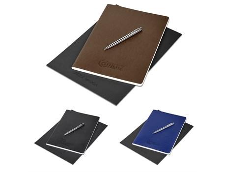 Alex Varga Large Soft Cover Notebook & Pen Set Giftsets