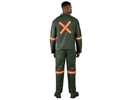 Acid Resistant Polycotton Conti Suit Workwear and Hospitality