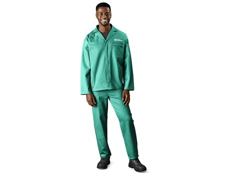 D59 Flame Retardant 100% Cotton Conti Suit Workwear and Hospitality
