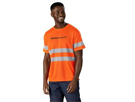 Construction Hi-Viz Reflective T-Shirt Workwear and Hospitality