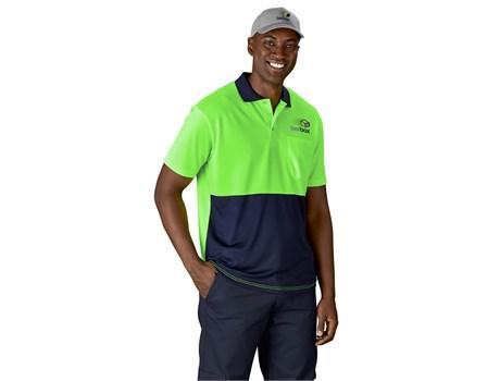 Inspector Two-Tone Hi-Viz Golf Shirt Workwear and Hospitality