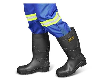 Power Gumboot Steel Toe Cap Workwear and Hospitality