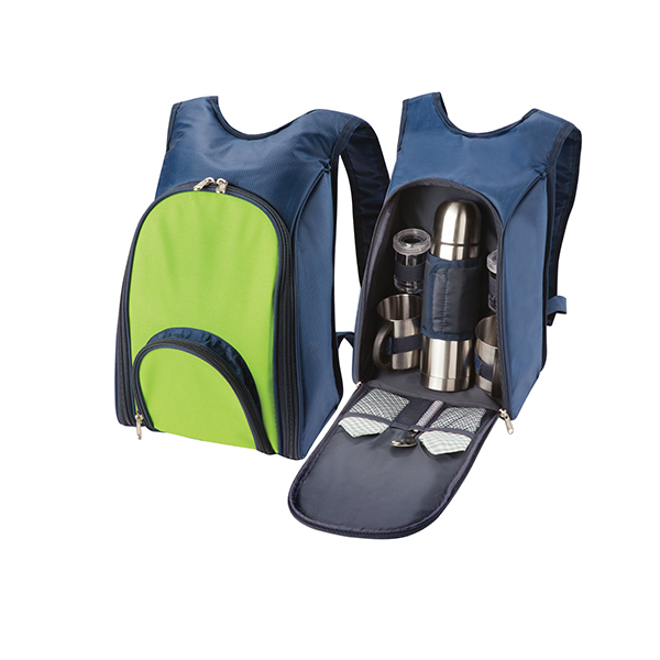 Coffee time Backpack for 2 Beach and Outdoor Items